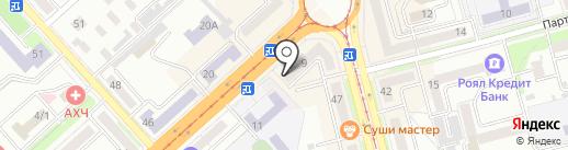 Академия на карте Комсомольска-на-Амуре