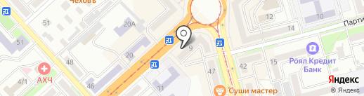 Светлана на карте Комсомольска-на-Амуре
