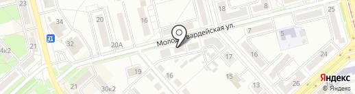 Детский каталог на карте Комсомольска-на-Амуре