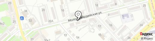 Дальневосточное агентство рекламных коммуникаций на карте Комсомольска-на-Амуре