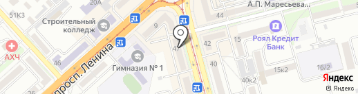Glance на карте Комсомольска-на-Амуре