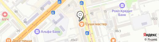 Антилопа плюс на карте Комсомольска-на-Амуре