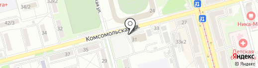 Amba на карте Комсомольска-на-Амуре