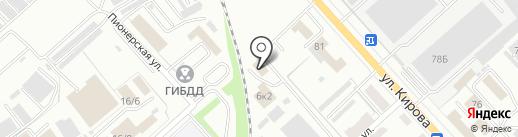 СМУ СТС на карте Комсомольска-на-Амуре