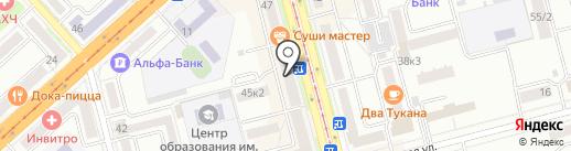 СТЕК на карте Комсомольска-на-Амуре