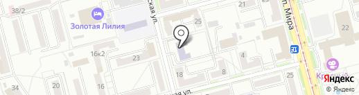Детская музыкальная школа на карте Комсомольска-на-Амуре