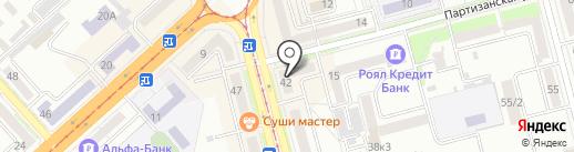 YETI на карте Комсомольска-на-Амуре
