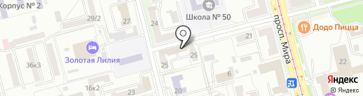 Sobinvest на карте Комсомольска-на-Амуре