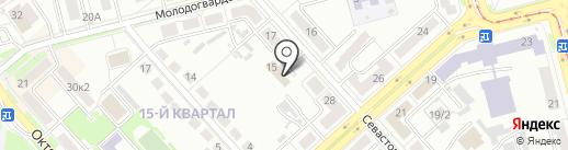 Отдел образования на карте Комсомольска-на-Амуре