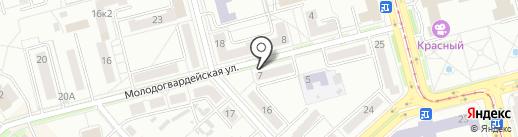 LUX на карте Комсомольска-на-Амуре