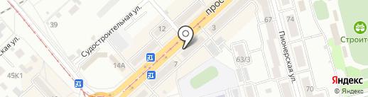 Модная лавка на карте Комсомольска-на-Амуре