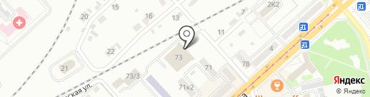 Профессиональное образовательное учреждение №18 на карте Комсомольска-на-Амуре