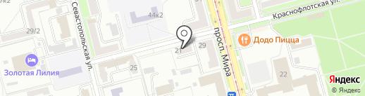 ДОМОФОН-сервис на карте Комсомольска-на-Амуре