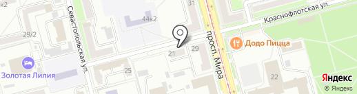 ДОМО-сервис на карте Комсомольска-на-Амуре