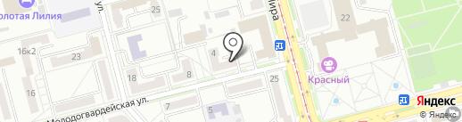 ХОЛДОМИ на карте Комсомольска-на-Амуре