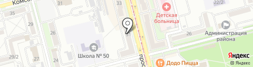 ИТЦ computers на карте Комсомольска-на-Амуре