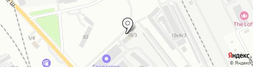 ПАТП №1, МУП на карте Комсомольска-на-Амуре