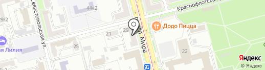 ВКУБИ на карте Комсомольска-на-Амуре