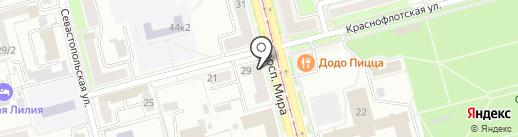 Кофейня на карте Комсомольска-на-Амуре