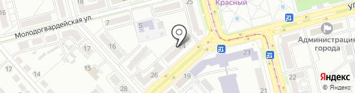 РОСГОССТРАХ БАНК на карте Комсомольска-на-Амуре