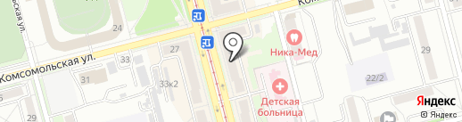 Пиши-Читай на карте Комсомольска-на-Амуре