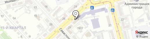 Ресо-Гарантия, СПАО на карте Комсомольска-на-Амуре