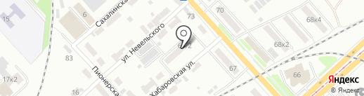ВАЛМЕТАМУР на карте Комсомольска-на-Амуре