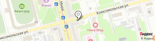 Компания по продаже запчастей и комплектующих для холодильно-климатических установок на карте Комсомольска-на-Амуре