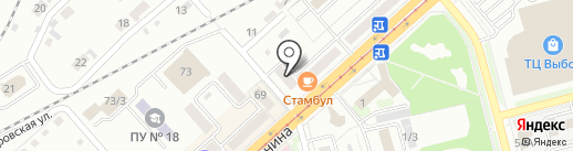 ТЕХНОЛОГИЯ РЕМОНТА на карте Комсомольска-на-Амуре