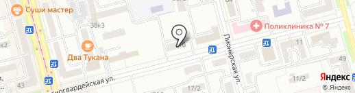 Telepay на карте Комсомольска-на-Амуре