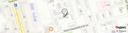Хабаровская краевая специализированная библиотека для слепых на карте Комсомольска-на-Амуре