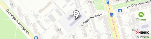 Средняя общеобразовательная школа №53 на карте Комсомольска-на-Амуре