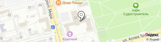 Фотостудия Станислава Кабанова на карте Комсомольска-на-Амуре