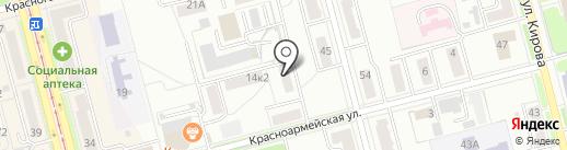 Гарант на карте Комсомольска-на-Амуре