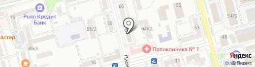 Амуррыбвод на карте Комсомольска-на-Амуре