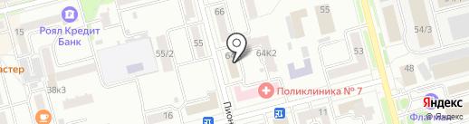 Межрайонная инспекция Федеральной налоговой службы России №8 по Хабаровскому краю на карте Комсомольска-на-Амуре