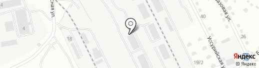 Центр авторазбора на карте Комсомольска-на-Амуре