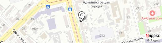 Мадлен на карте Комсомольска-на-Амуре