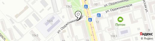 Строительная фирма на карте Комсомольска-на-Амуре