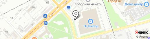 Mc. CHIKEN на карте Комсомольска-на-Амуре