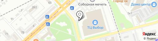 ХабЦветТорг на карте Комсомольска-на-Амуре