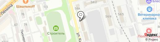 КОМПАНИЯ СТРОЙ-АМУР на карте Комсомольска-на-Амуре