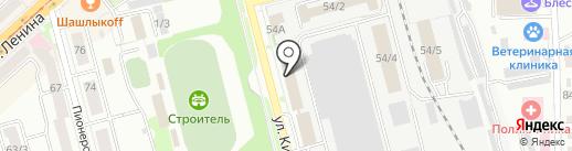 Хабаровский похоронный дом на карте Комсомольска-на-Амуре