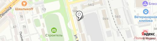 Мегалит на карте Комсомольска-на-Амуре