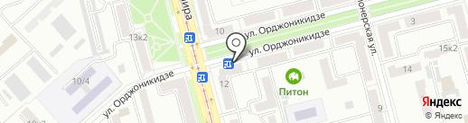 Магазин автозапчастей для корейских автомобилей на карте Комсомольска-на-Амуре