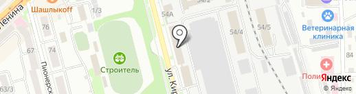 7 миля на карте Комсомольска-на-Амуре
