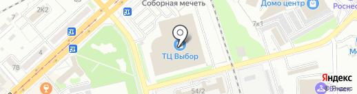 Бар кислородных коктейлей на ул. Кирова на карте Комсомольска-на-Амуре