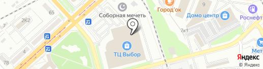 Дакота на карте Комсомольска-на-Амуре
