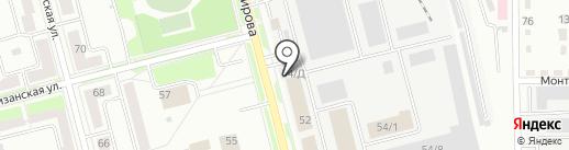 АККУМУЛЯТОР на карте Комсомольска-на-Амуре