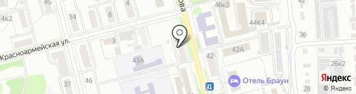 Газовый центр на карте Комсомольска-на-Амуре